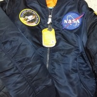 One NASA MA-1 Jacket