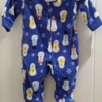 Baby Microfleece Zip-Up Sleep and Play