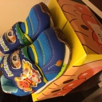 Moonstar Anpanman and Cars shoes