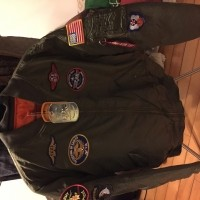 MA-1 jacket bought from Alphaindustries